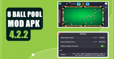 8 BALL POOL 4.2.2 MOD APK FREE DOWNLOAD